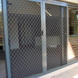 Diamond Grille Doors 1