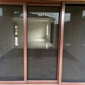 Screen mesh sliding doors steel mesh security doors