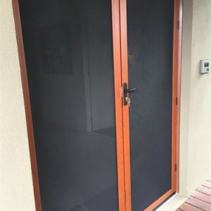 security mesh doors